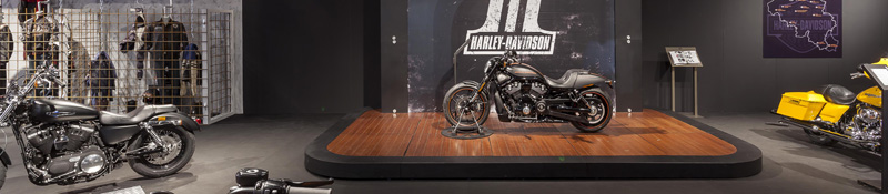 Stand Harley Davidson Autosalon